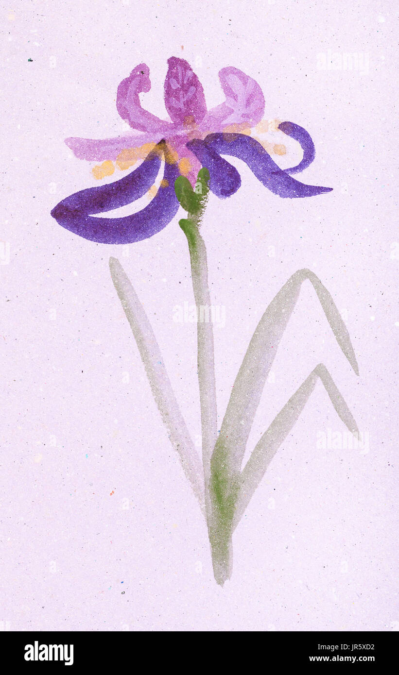 Paper iris flower funfndroid paper iris flower izmirmasajfo