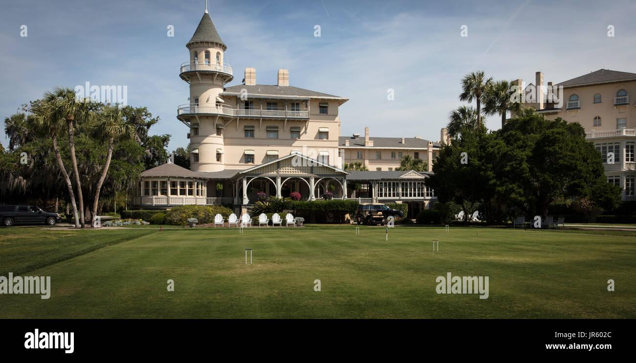 Jekyll Island Country Club - Stock Image