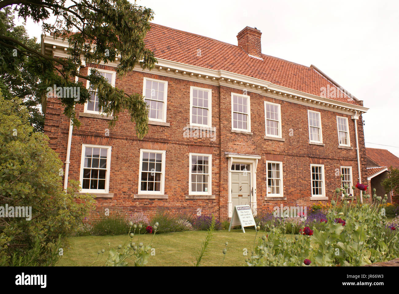 Old Rectory, Epworth, Lincolnshire - Stock Image