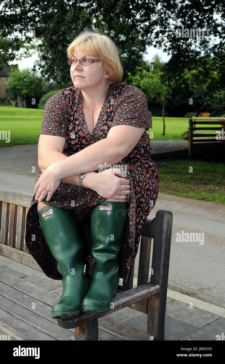 Woman Wearing Wellington Boots Stock Photos & Woman ...