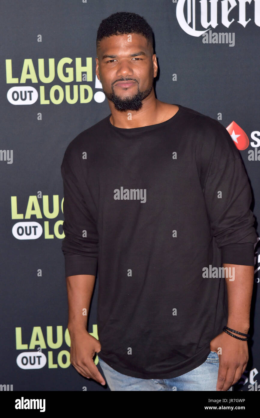 Los Angeles Usa 3rd Aug 2017 Damien Dante Wayans Attends The Stock Photo Alamy