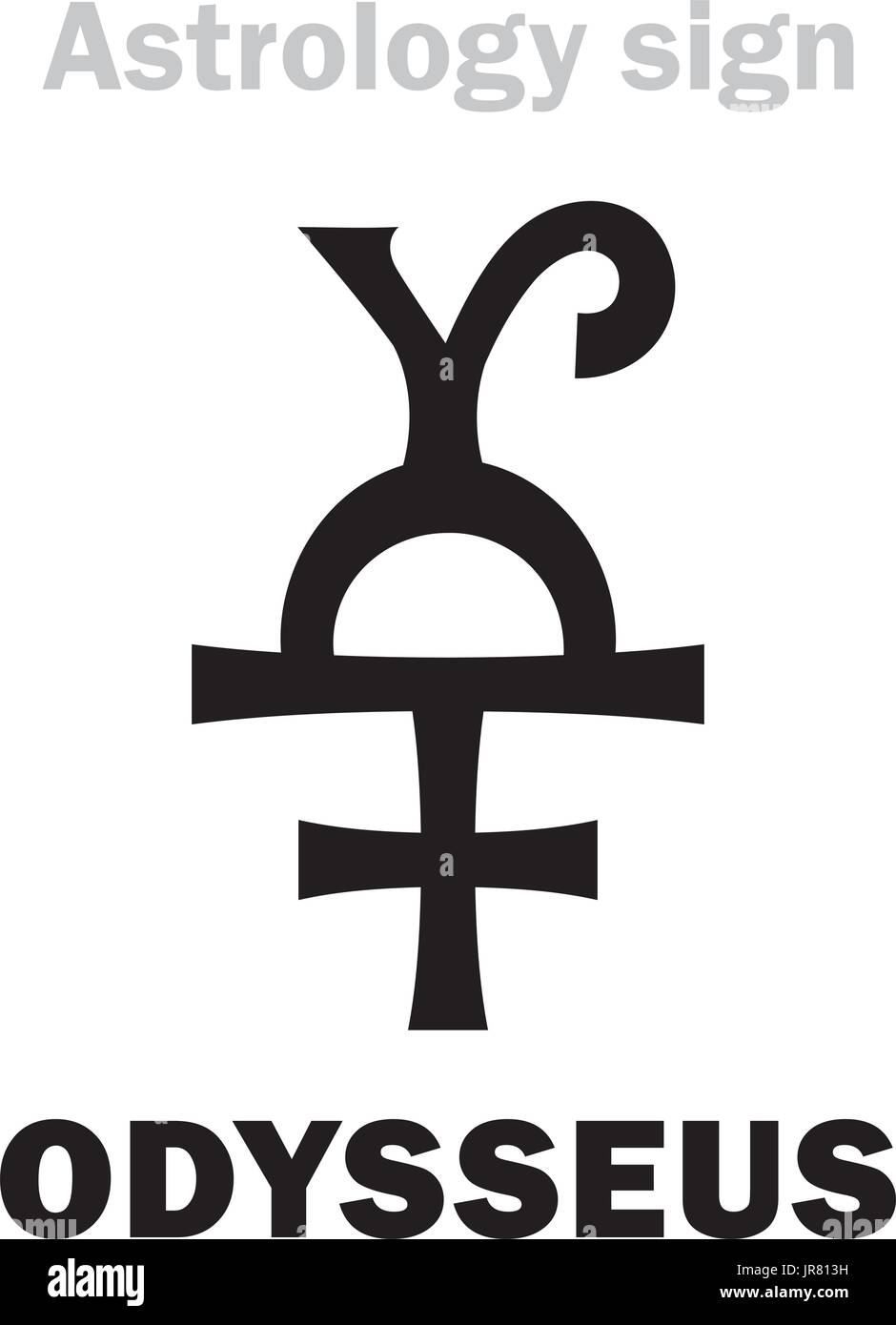 Astrology Alphabet: ODYSSEUS (Ulysses), asteroid #1143