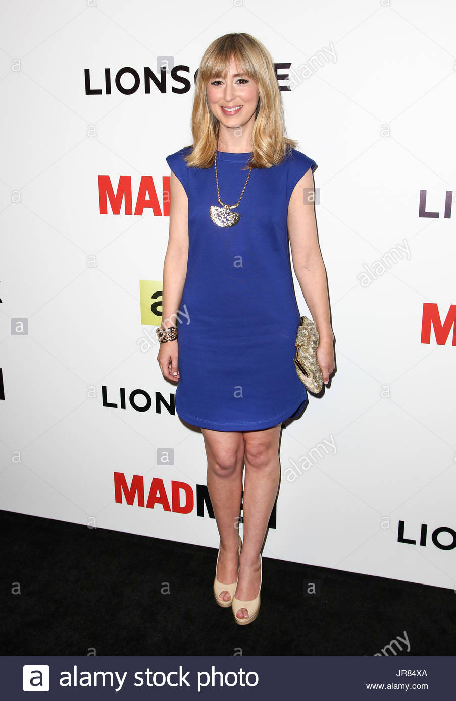 Stephanie Drake Amcs Season Seven Premiere Of Mad Men At The