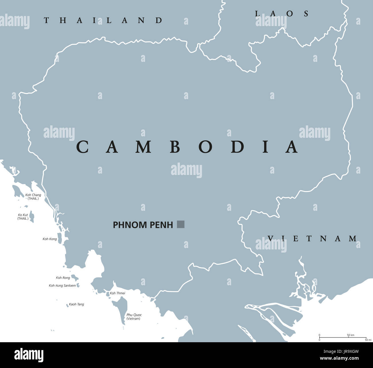 Political Map South East Asia.Map Southeast Asia Stock Photos Map Southeast Asia Stock Images