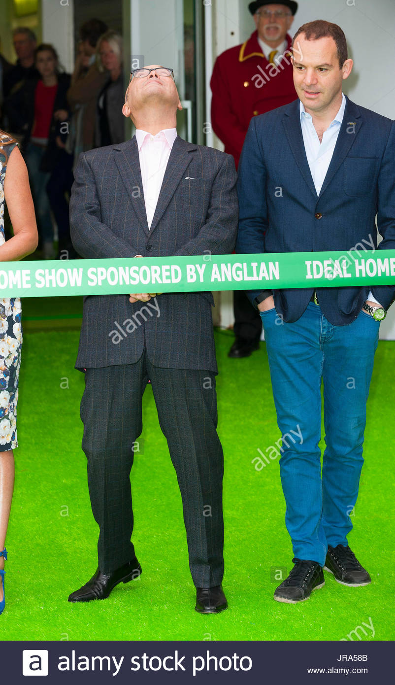 greg wallace opening of the ideal home show 2015 at london olympia