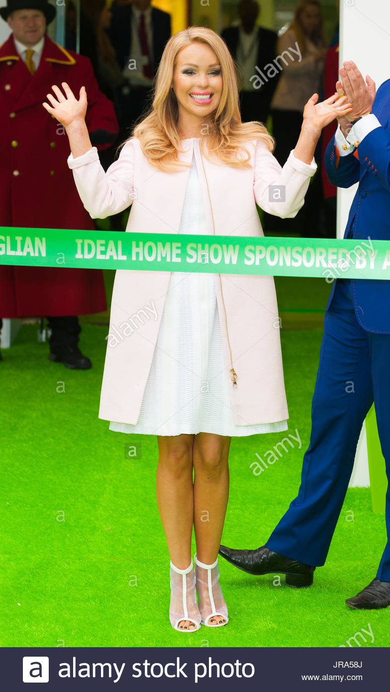 katie piper opening of the ideal home show 2015 at london olympia