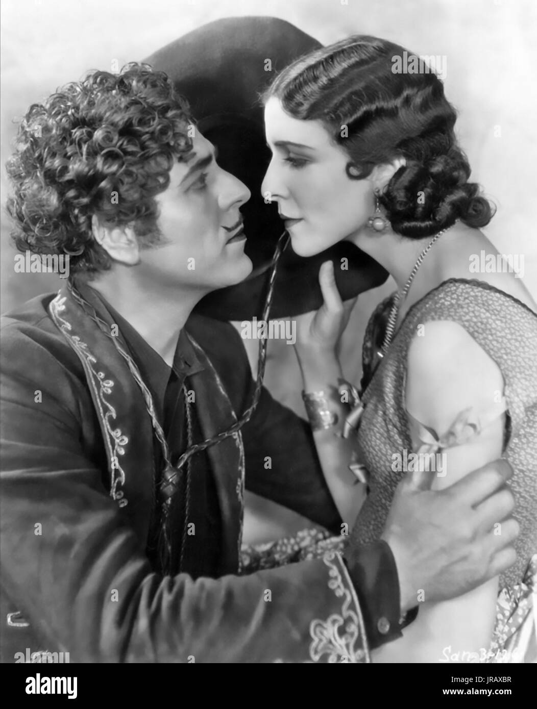 THE ARIZONA KID 1930 Fox Film Corporation production with Mona Maris and Warner Baxter - Stock Image