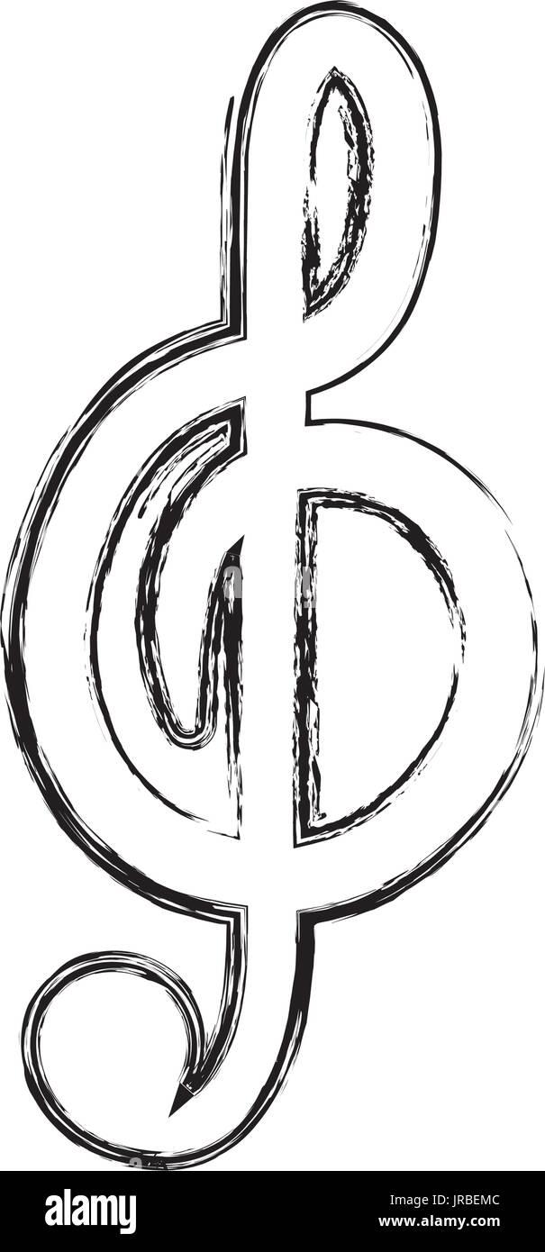 Music Note Symbol Stock Vector Art Illustration Vector