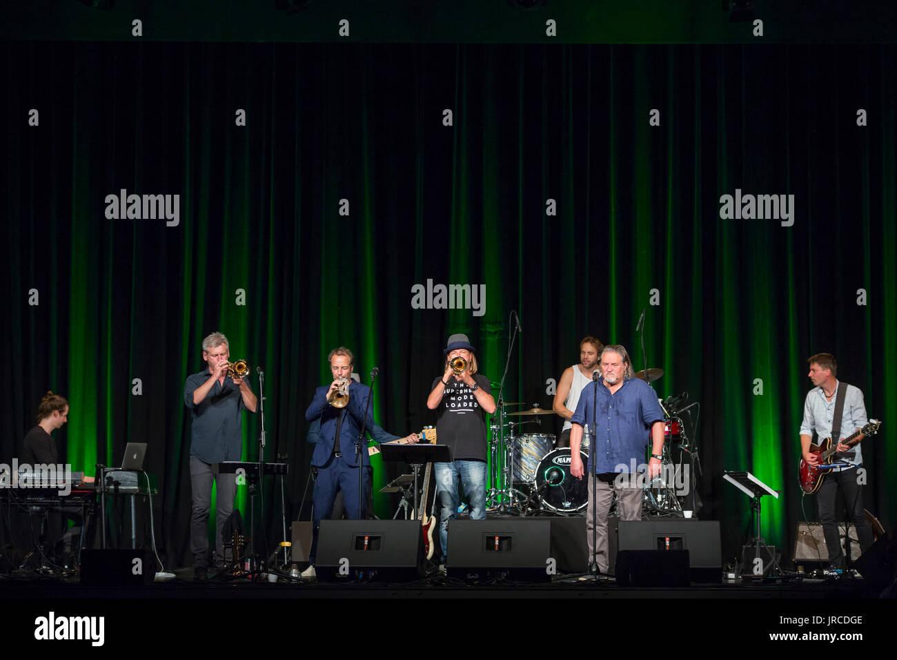 Wetzlar, Germany  1st August, 2017  Rüdiger Baldaufs Trumpet