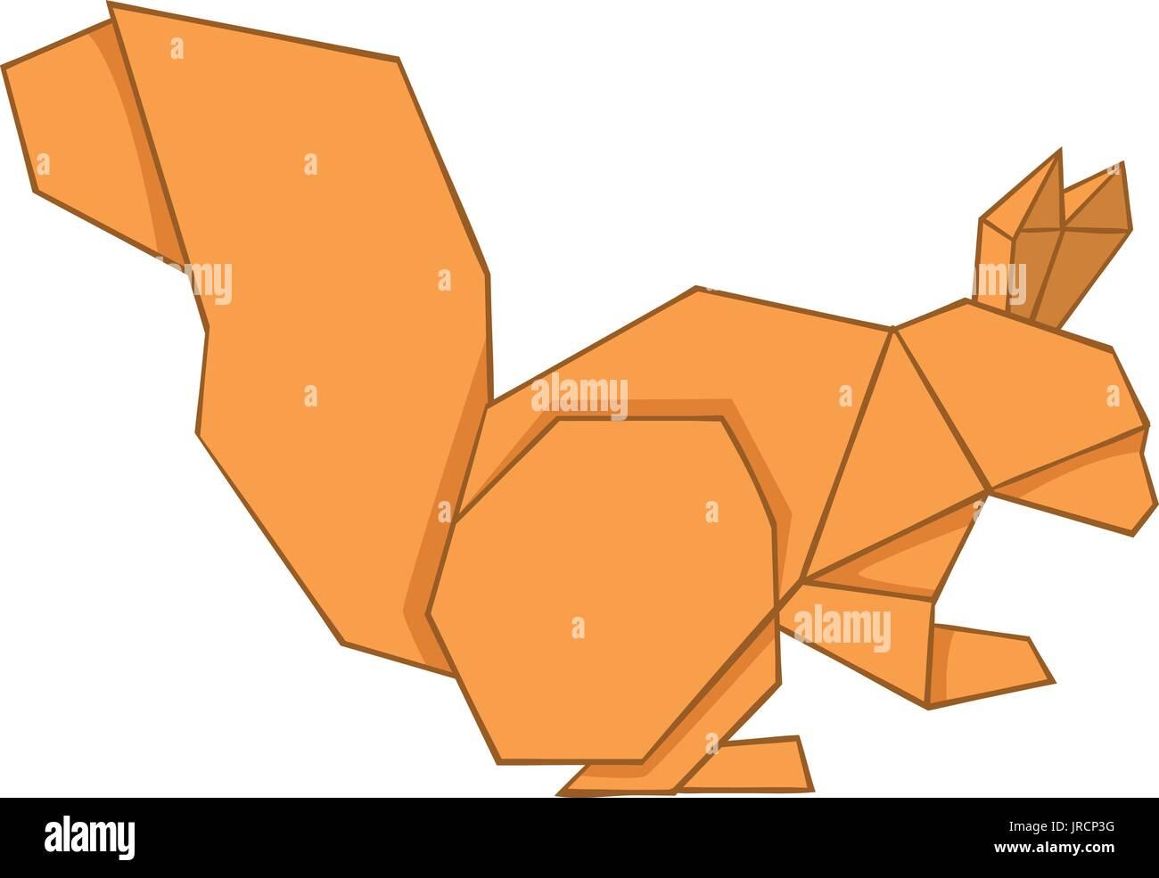 Origami Squirrel - Jo Nakashima | 985x1300