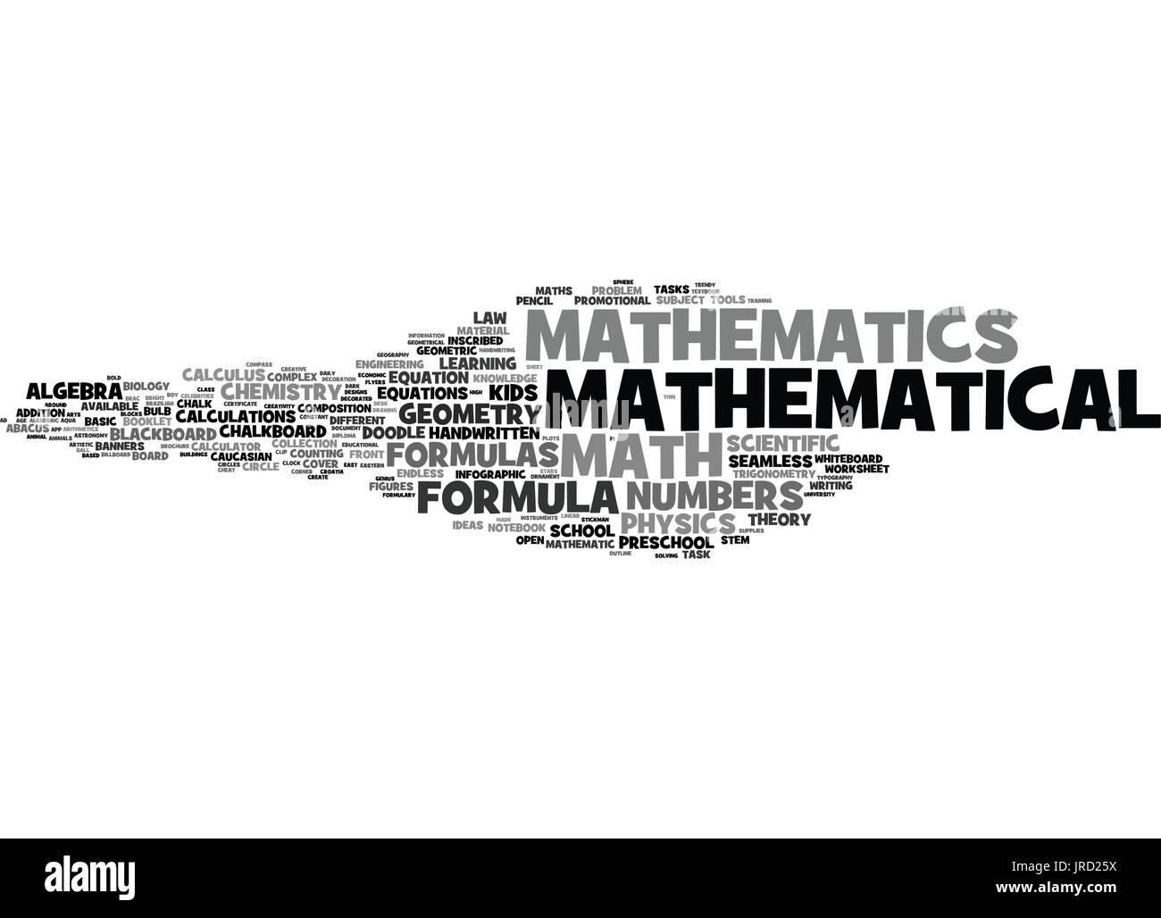 mathematical formulas black and white stock photos & images - alamy