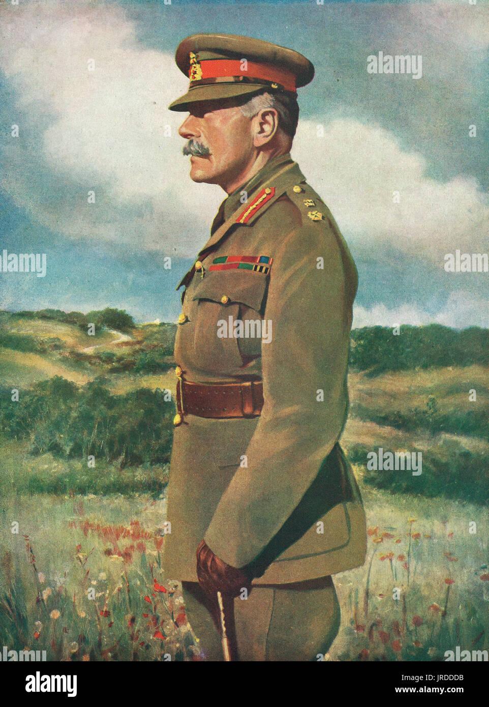 Field Marshal Sir Douglas Haig - Stock Image