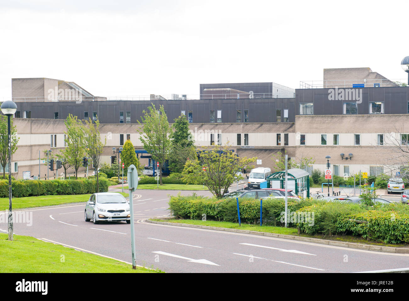 St Johns Hospital, Livingston GV - Stock Image