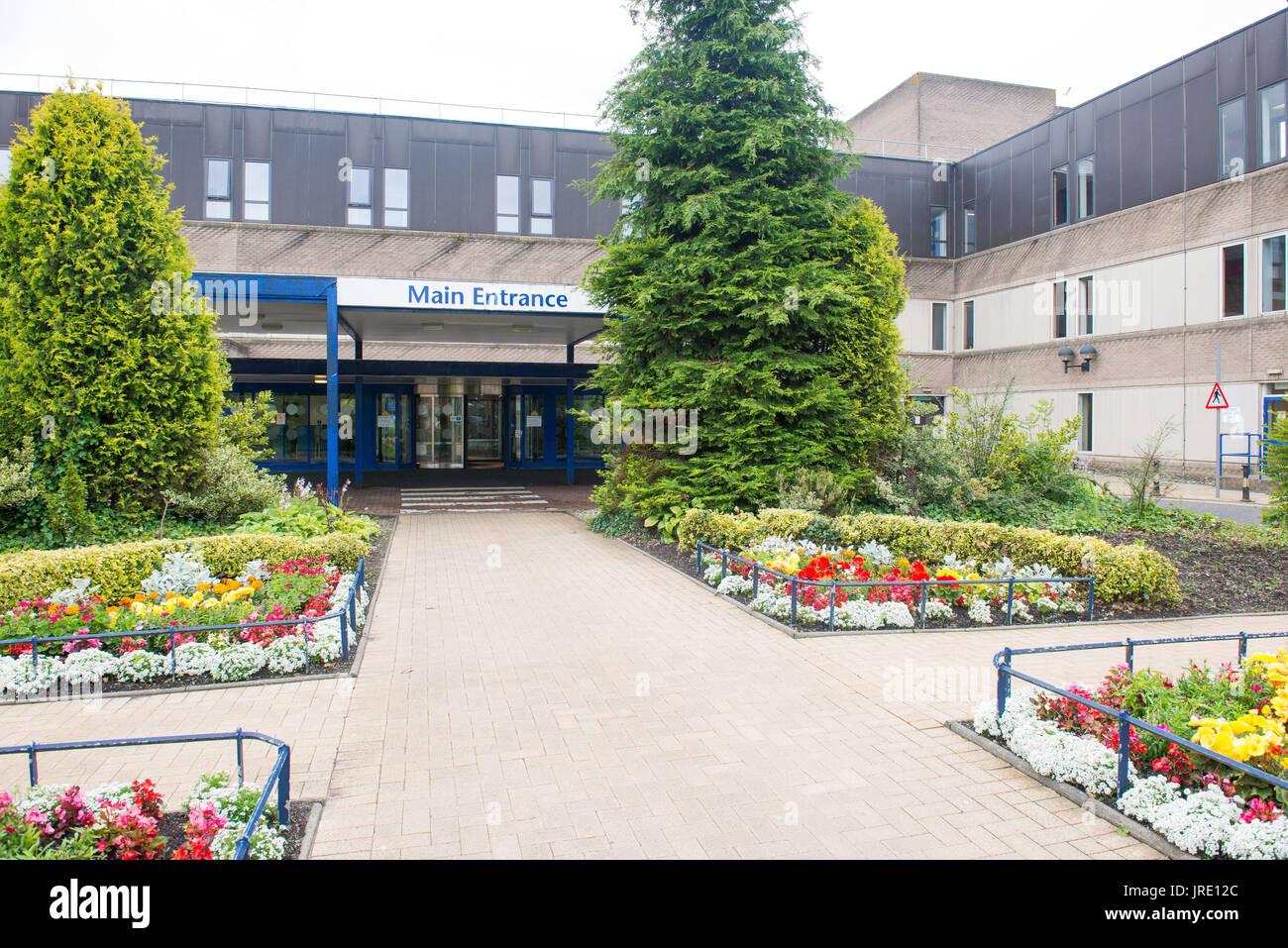 St Johns Hospital, Livingston GV - Stock Image