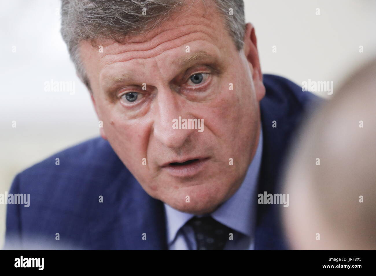 Kirov, Russia. 5th Aug, 2017. Acting Kirov Region Governor Igor Vasilyev attends a meeting of the Russian Presidential Council for the Local Self-Government Development. Credit: Mikhail Metzel/TASS/Alamy Live News - Stock Image