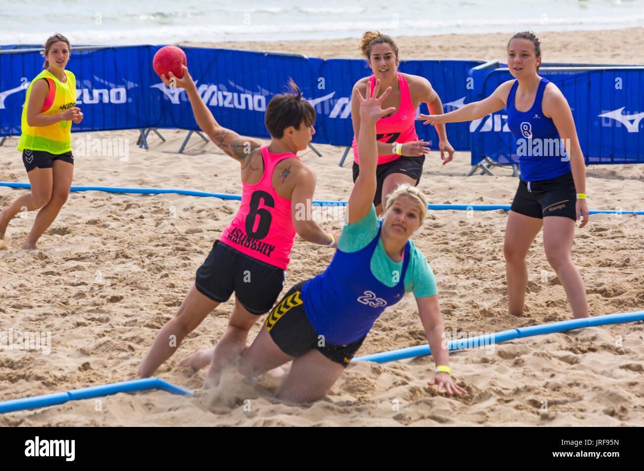 Beach Handball Stock Photos & Beach Handball Stock Images ...