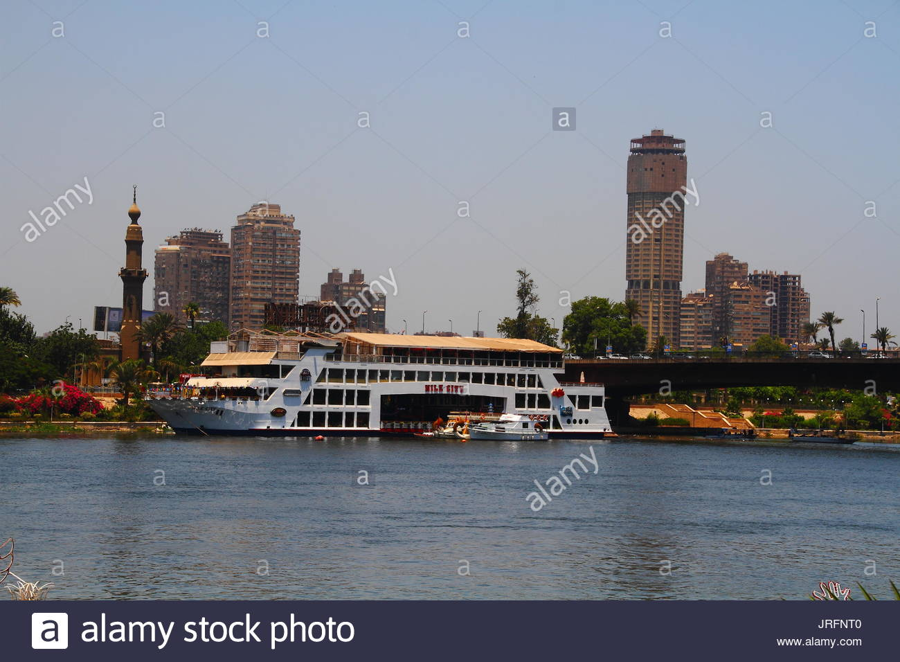Egypt - Cairo - The Nile - Stock Image