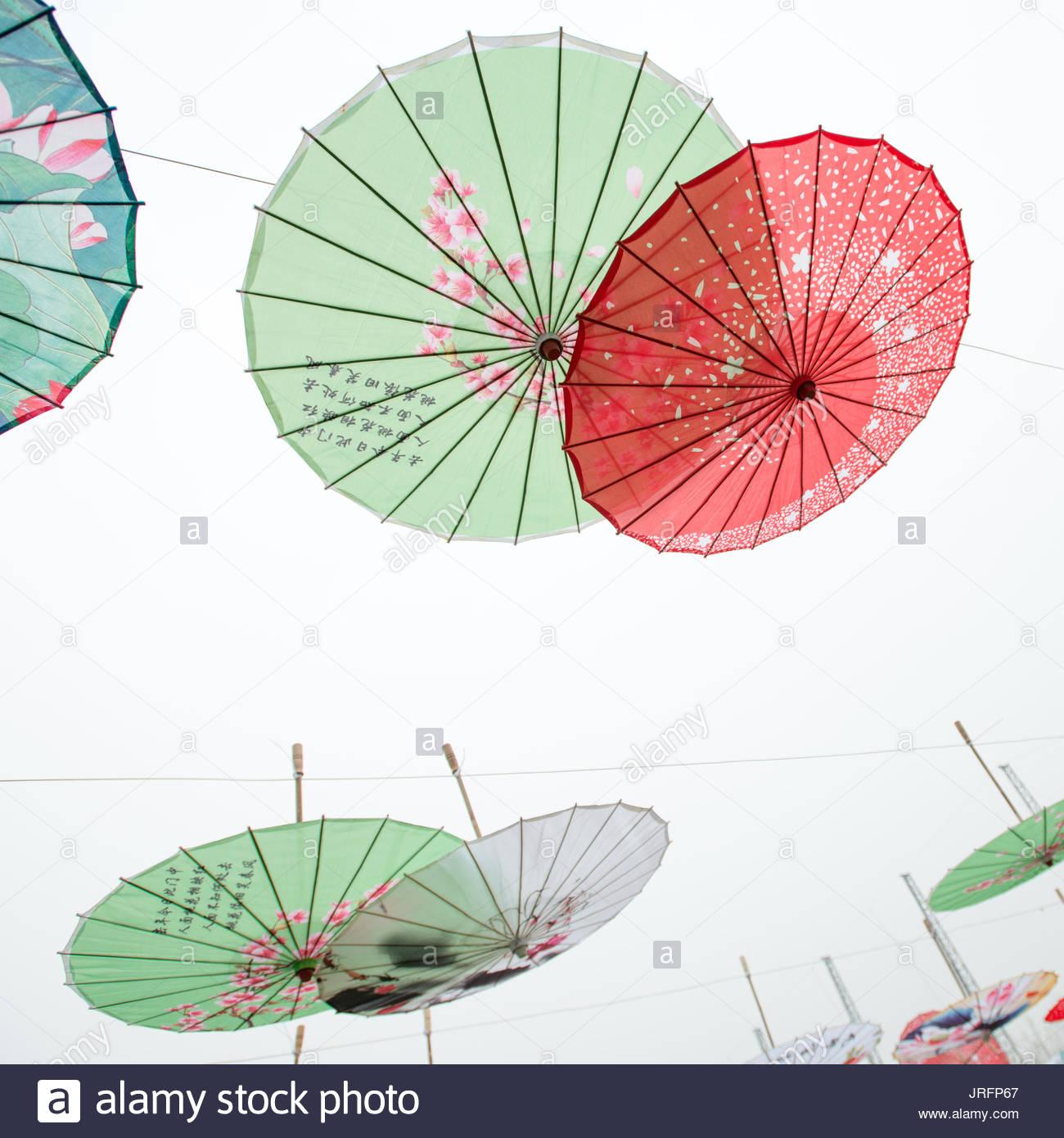 Hanging Umbrella Stock Photos & Hanging Umbrella Stock Images - Alamy