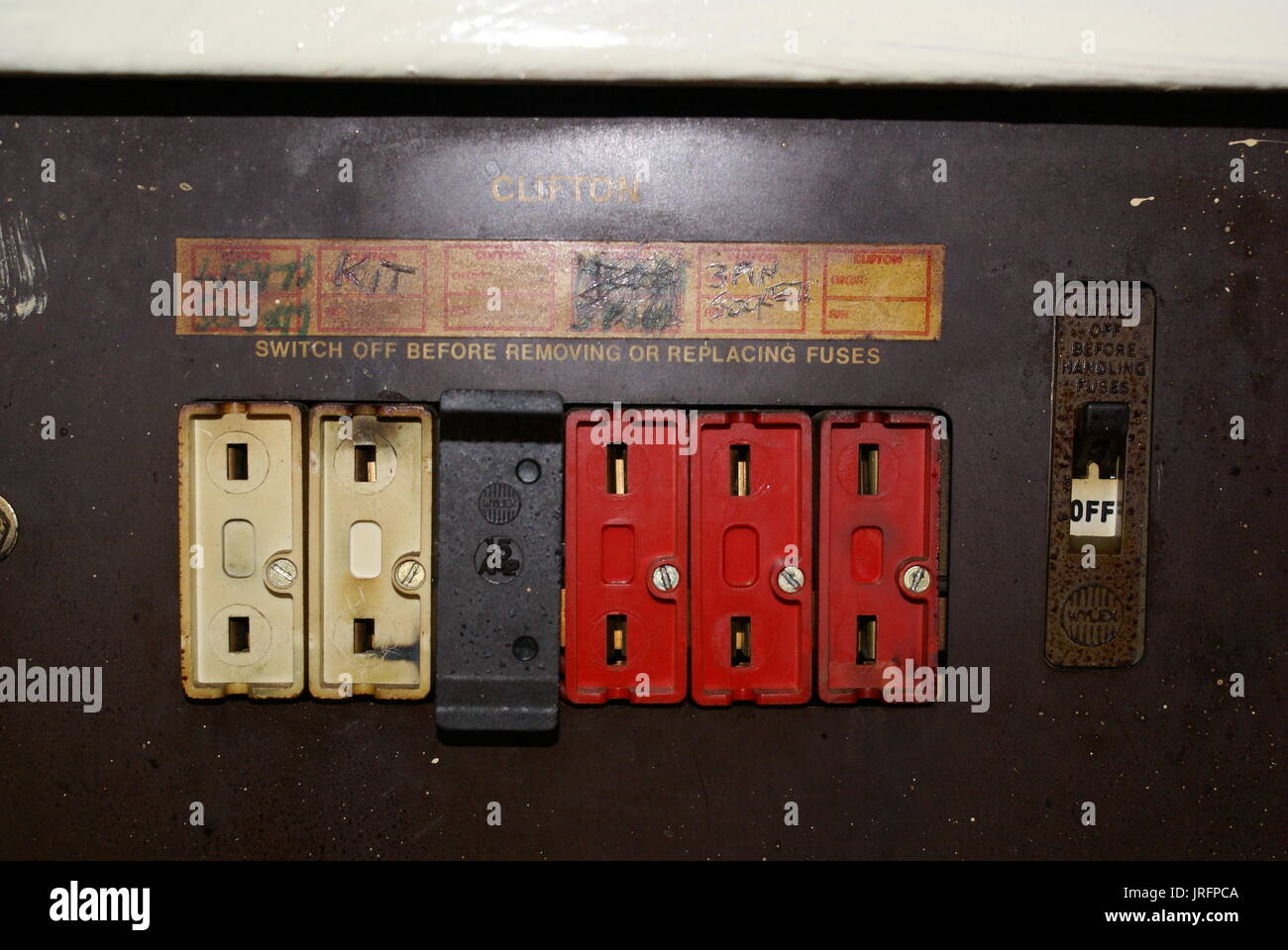 Electrical Fire Stock Photos Images Alamy 07 Jk Fuse Box Overload Image
