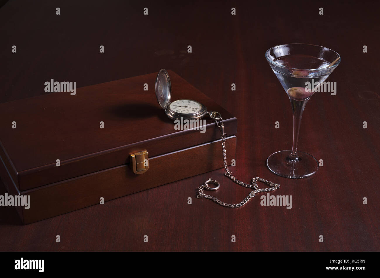 Classy gentlemen related items. Themed vintage and lifestyles photograph - Stock Image