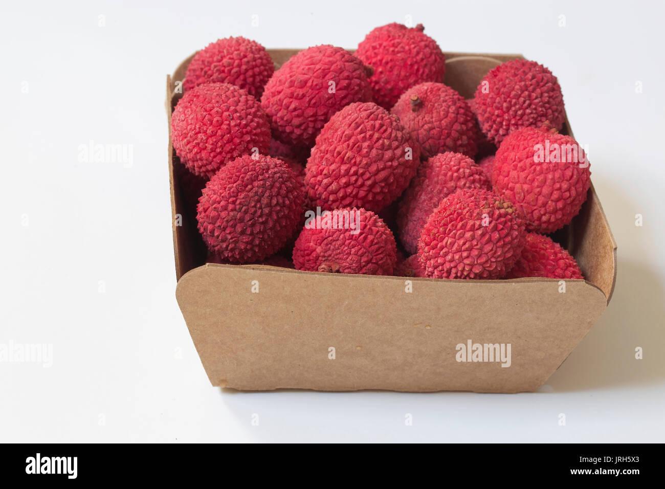Lychee Fruit - Stock Image