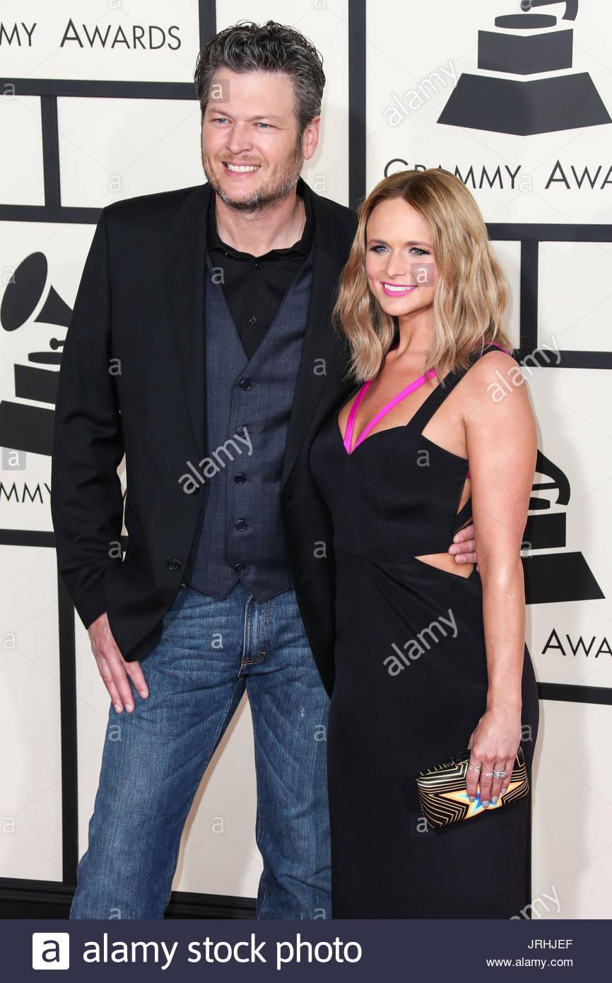 Miranda Lambert And Blake Shelton 2015