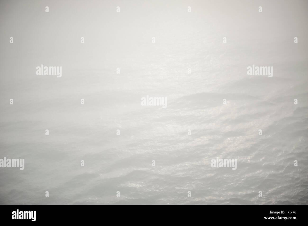 The Ocean in Fog - Stock Image