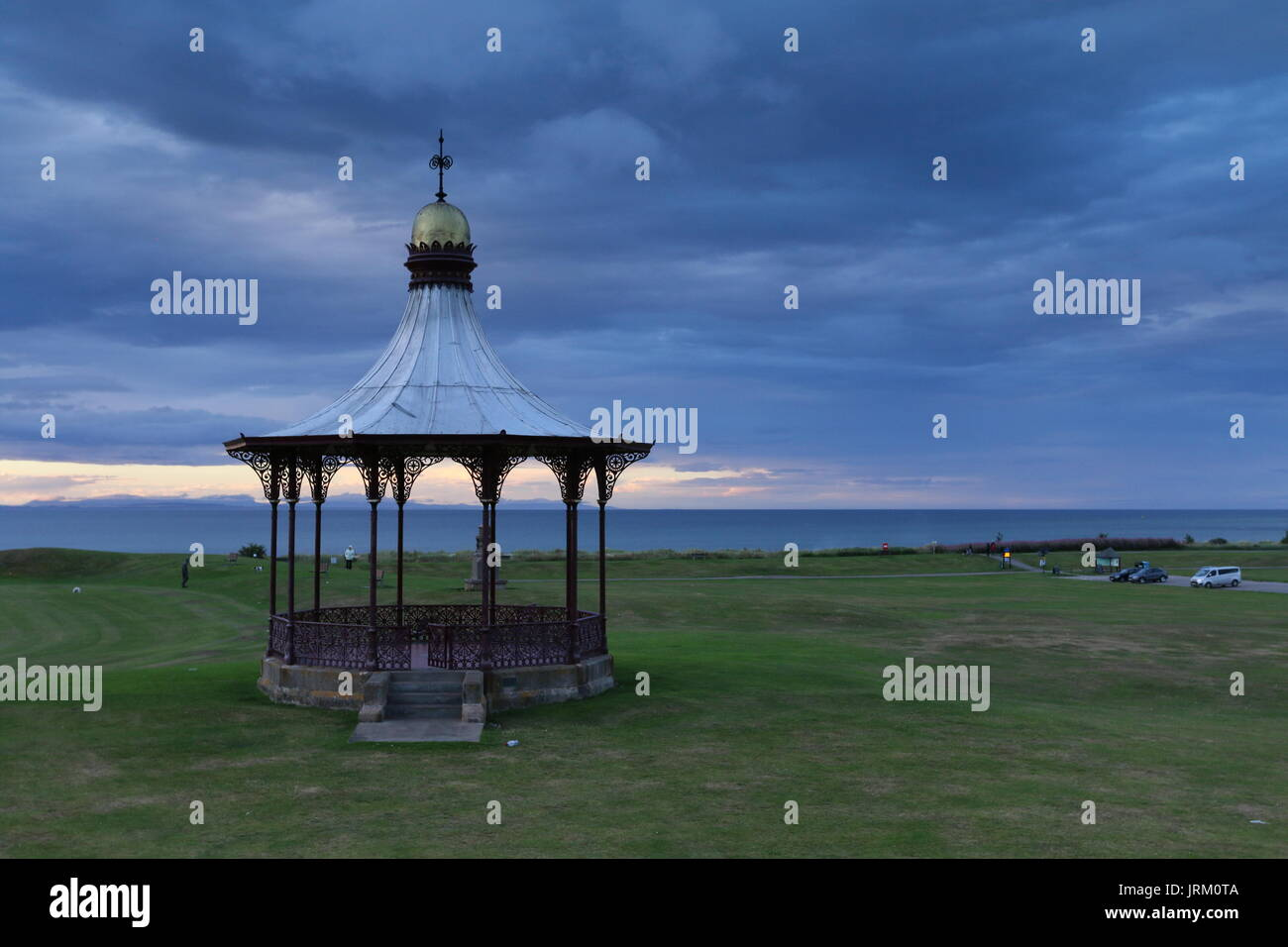 The Wallace Bandstand, Nairn, Scotland - Stock Image