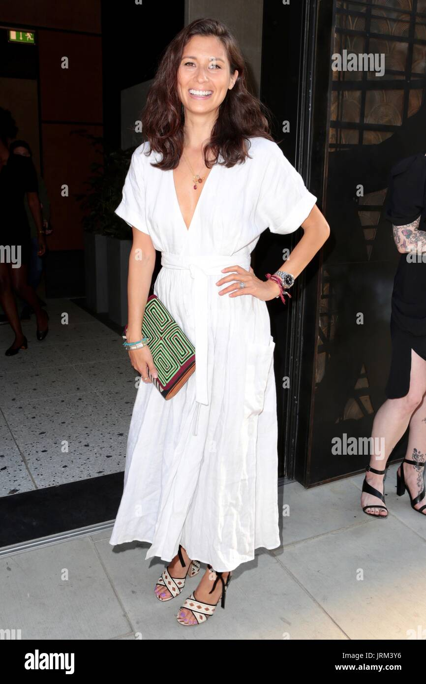 Guests attend the Warner Music and GQ summer party  Featuring: Jasmine Hemsley Where: London, United Kingdom When: Stock Photo