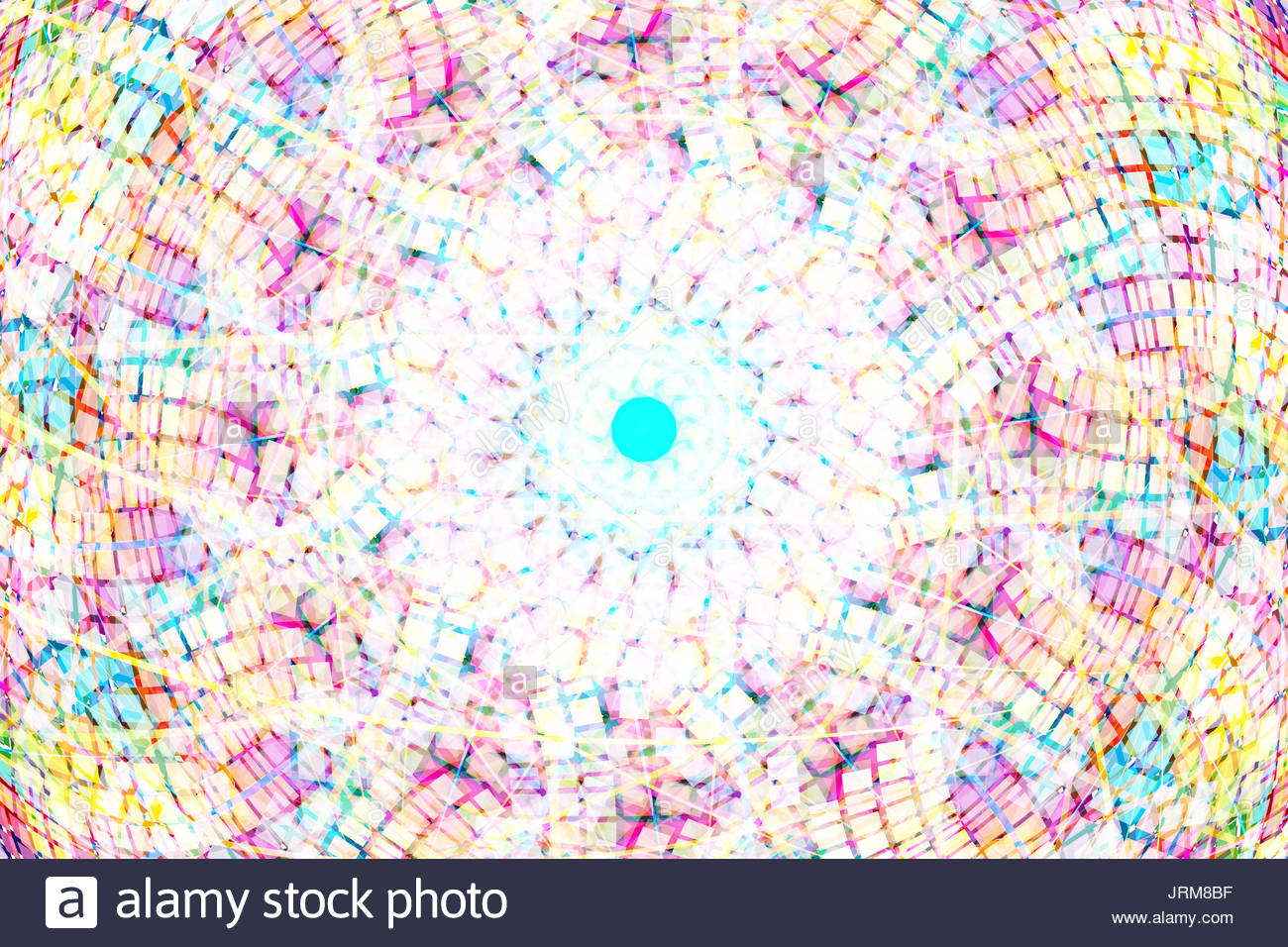 Abstracts and backgrounds background color is composed of colorful dream fragments - Stock Image