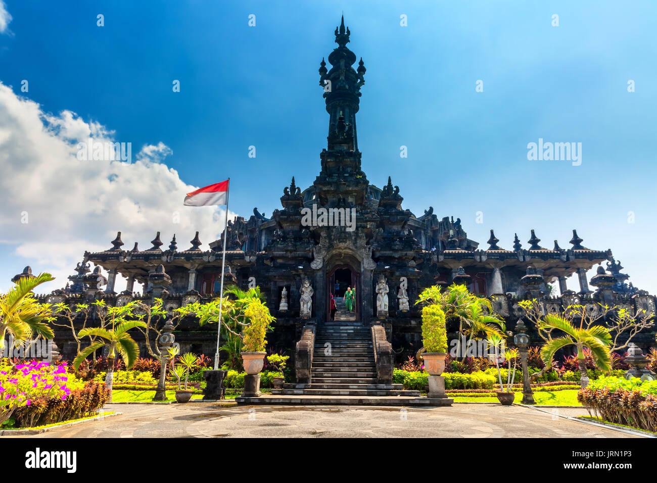 Bajra Sandhi monument in Denpasar, Bali, Indonesia - Stock Image