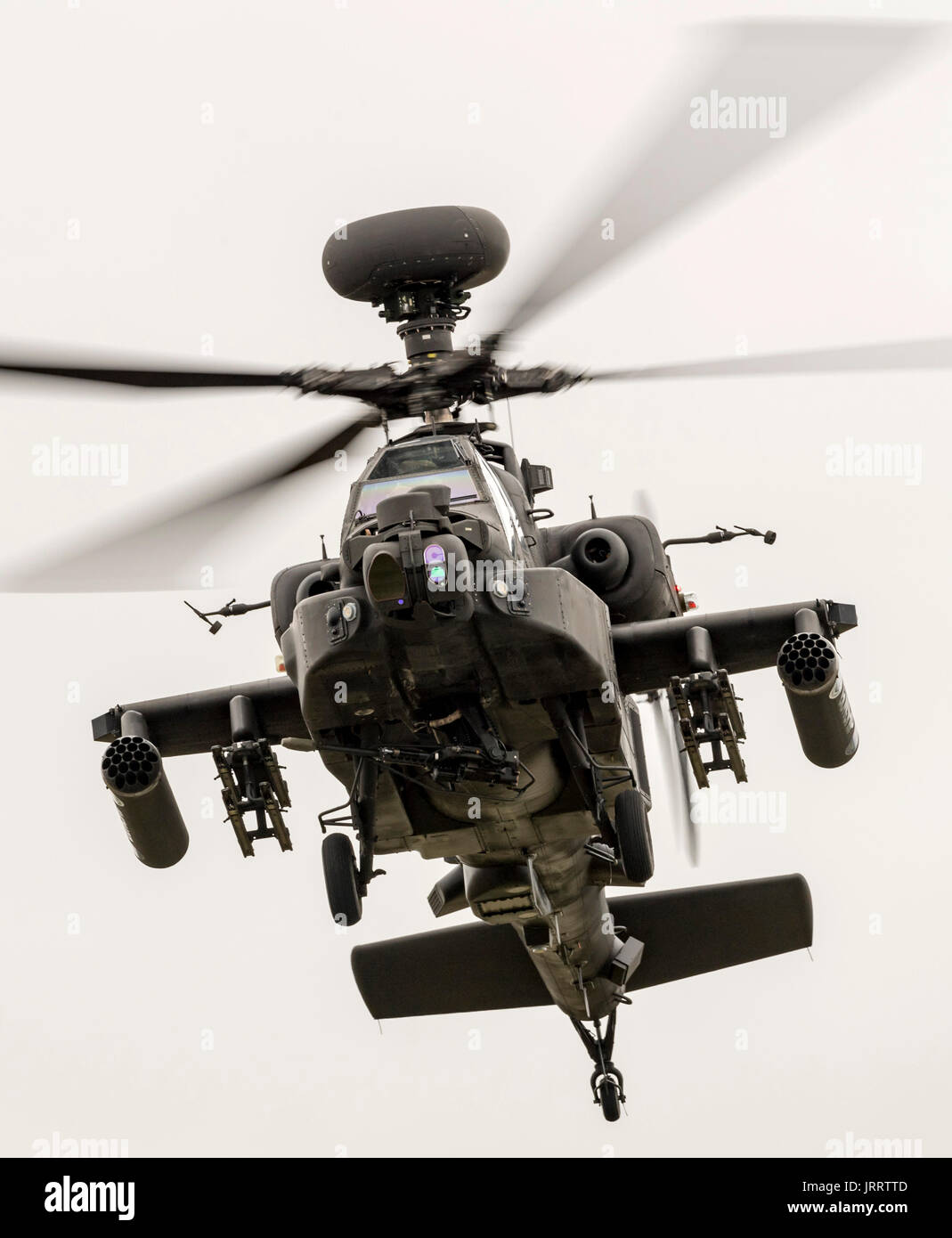 Apache Gunship British Army - Stock Image