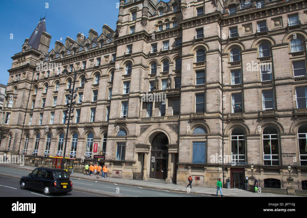 The North Western Hotel Lime St Liverpool Merseyside England - Stock Image