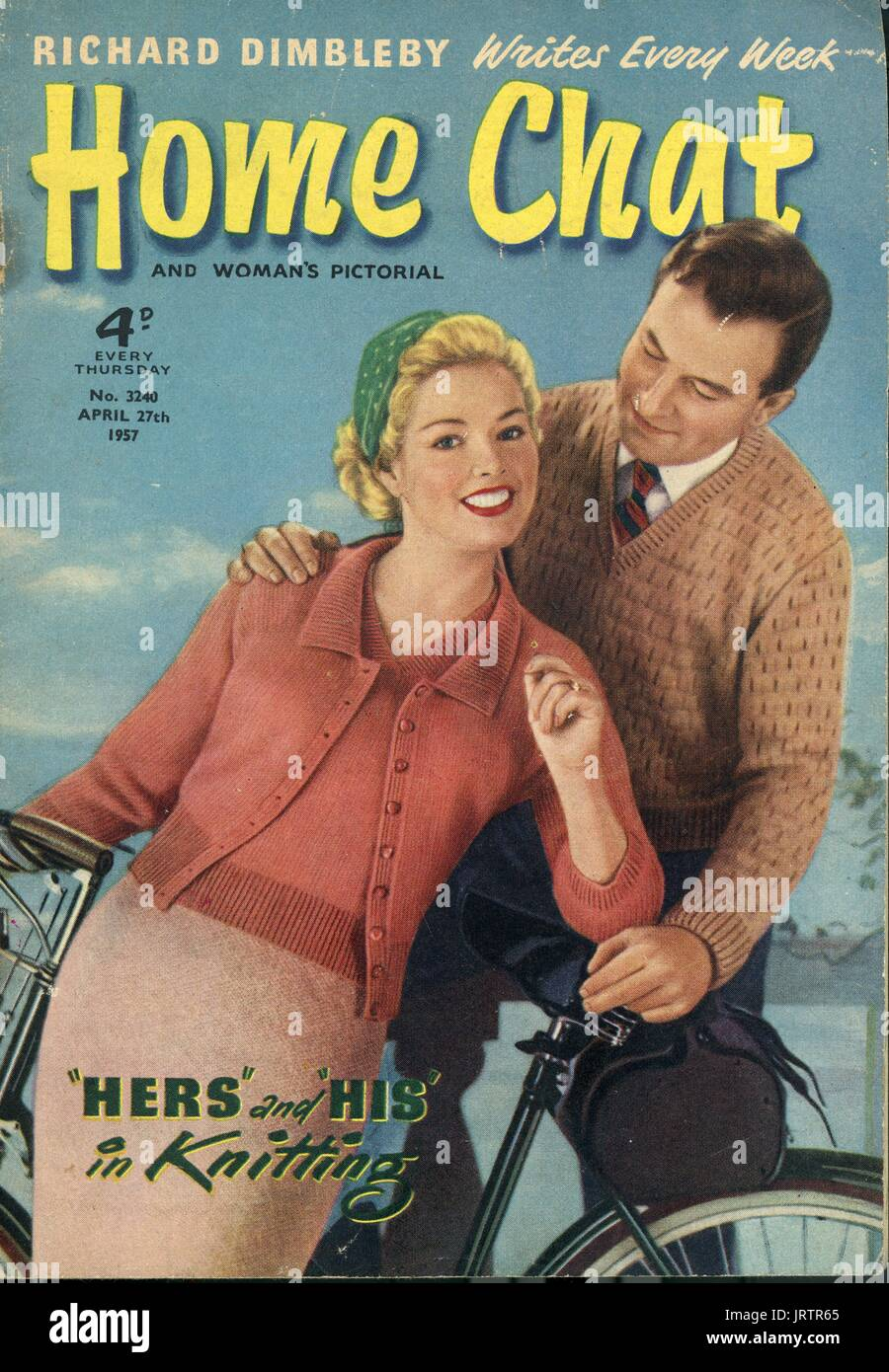 1950s uk woman magazine cover stock photos 1950s uk for Front of house magazine