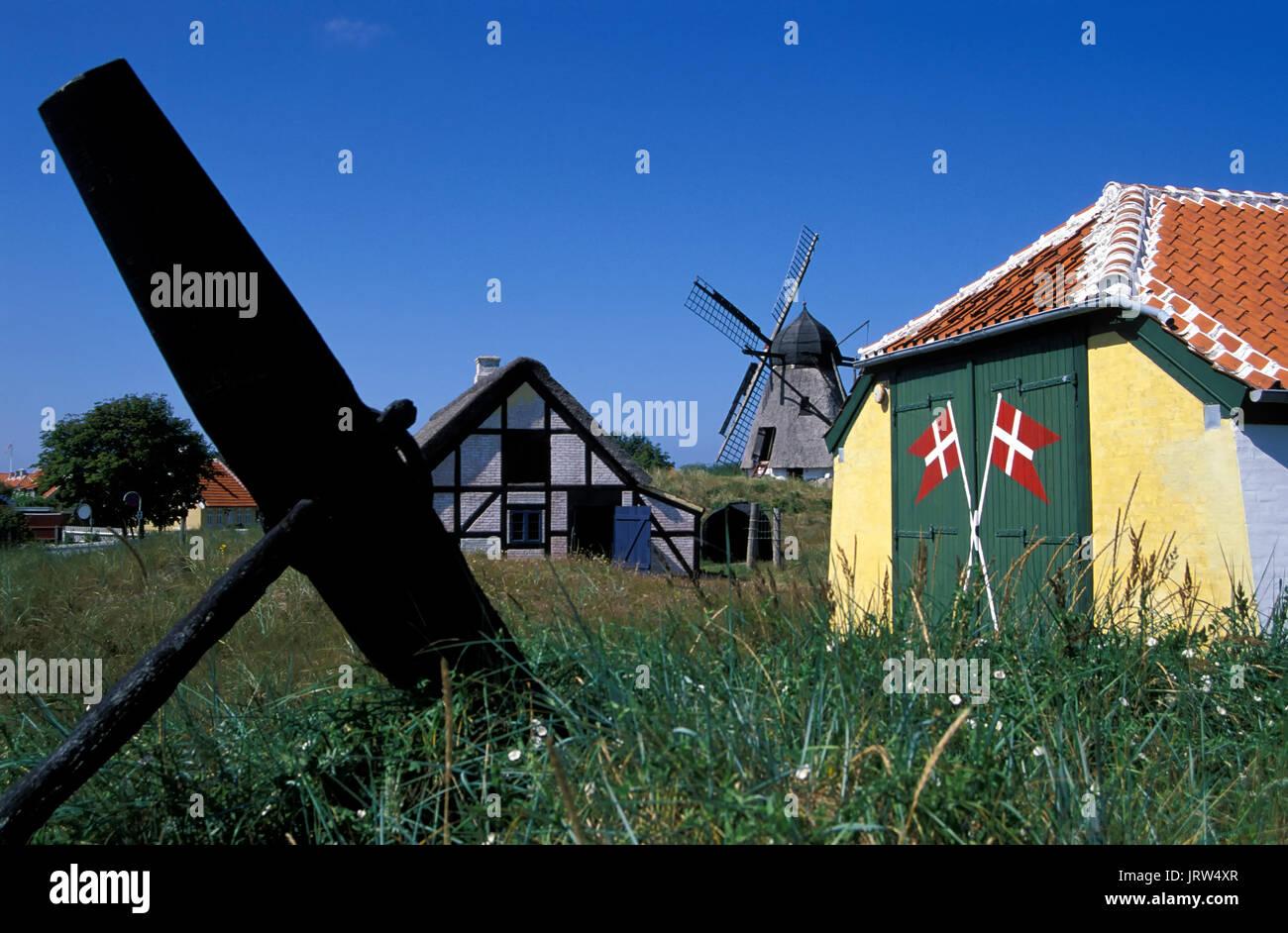 Skagen, Open air museum Skagens Fortidsminder, Northern Jutland, Denmark, Europe - Stock Image