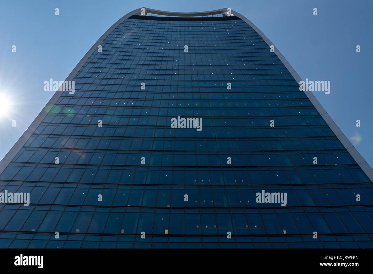 Walkie Talkie Building - 20 Fenchurch St, London EC3M - Stock Image