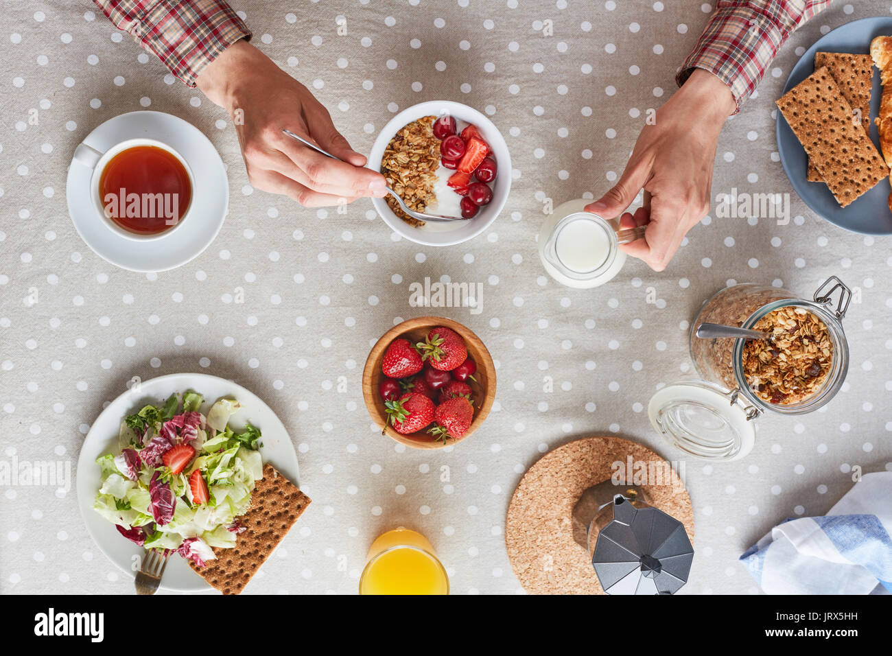 Healthy eating - Stock Image