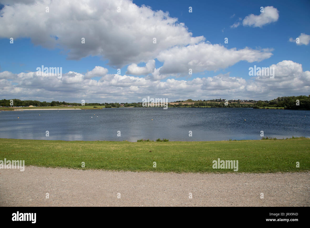 Pugneys watersports centre and country park, near Wakefield - Stock Image