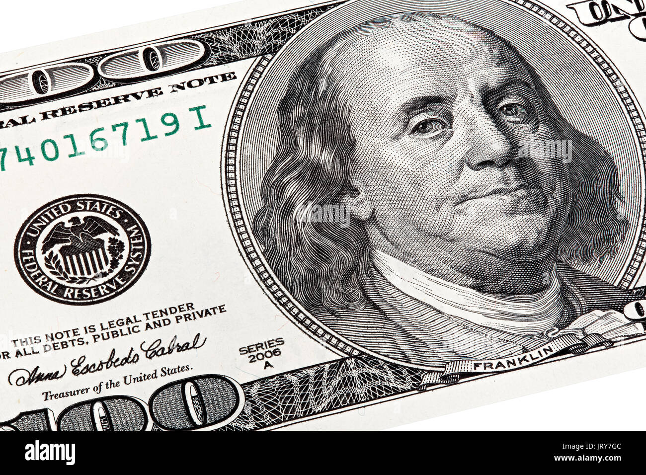 2013 100 Dollar United States Stock Photos & 2013 100 Dollar