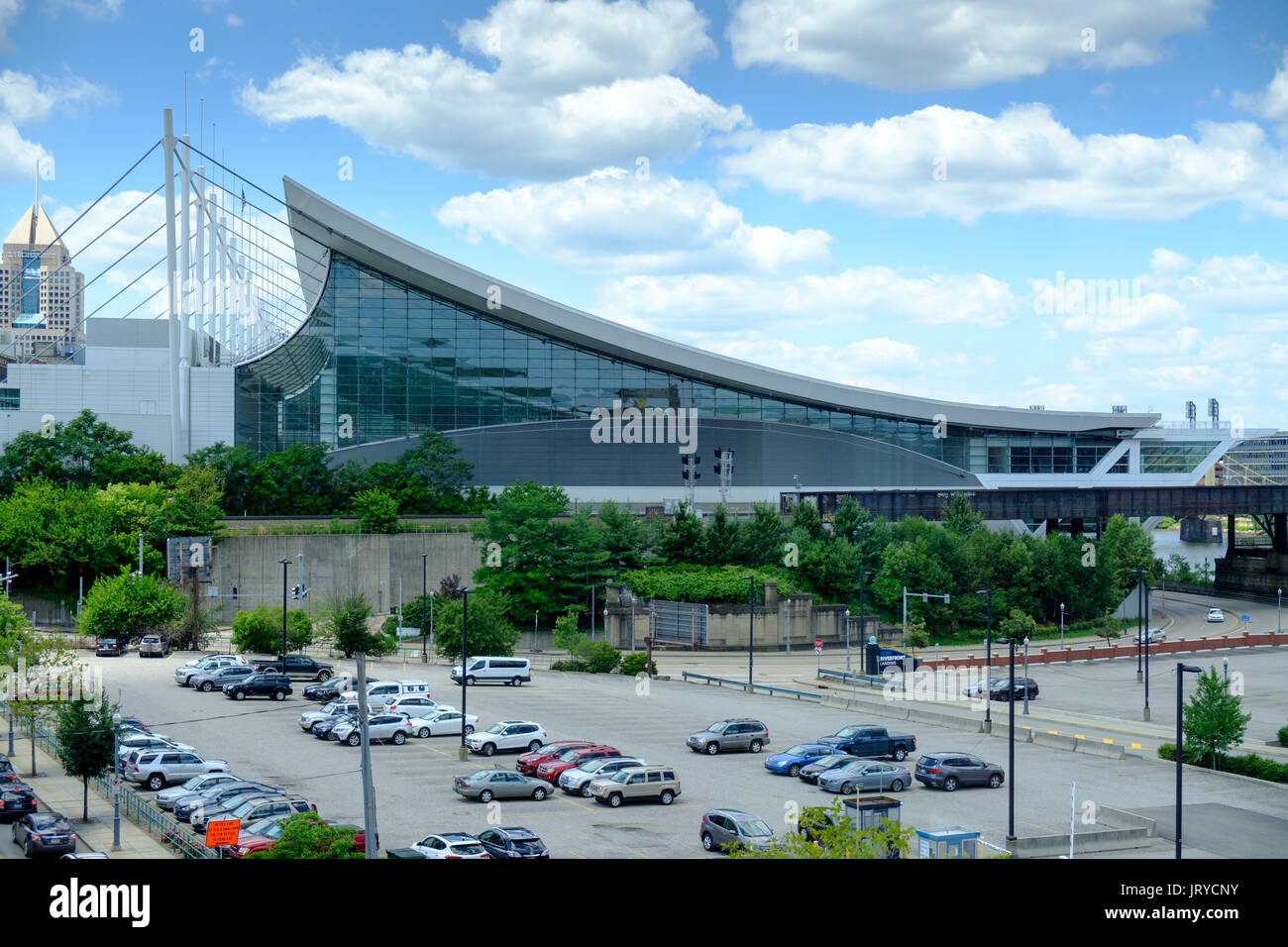 The David L. Lawrence Convention Center, Pittsburgh, Pennsylvania ...