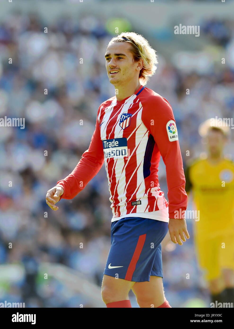 the latest 33eab 8e3e7 Antoine Griezmann of Atletico Madrid during the friendly ...