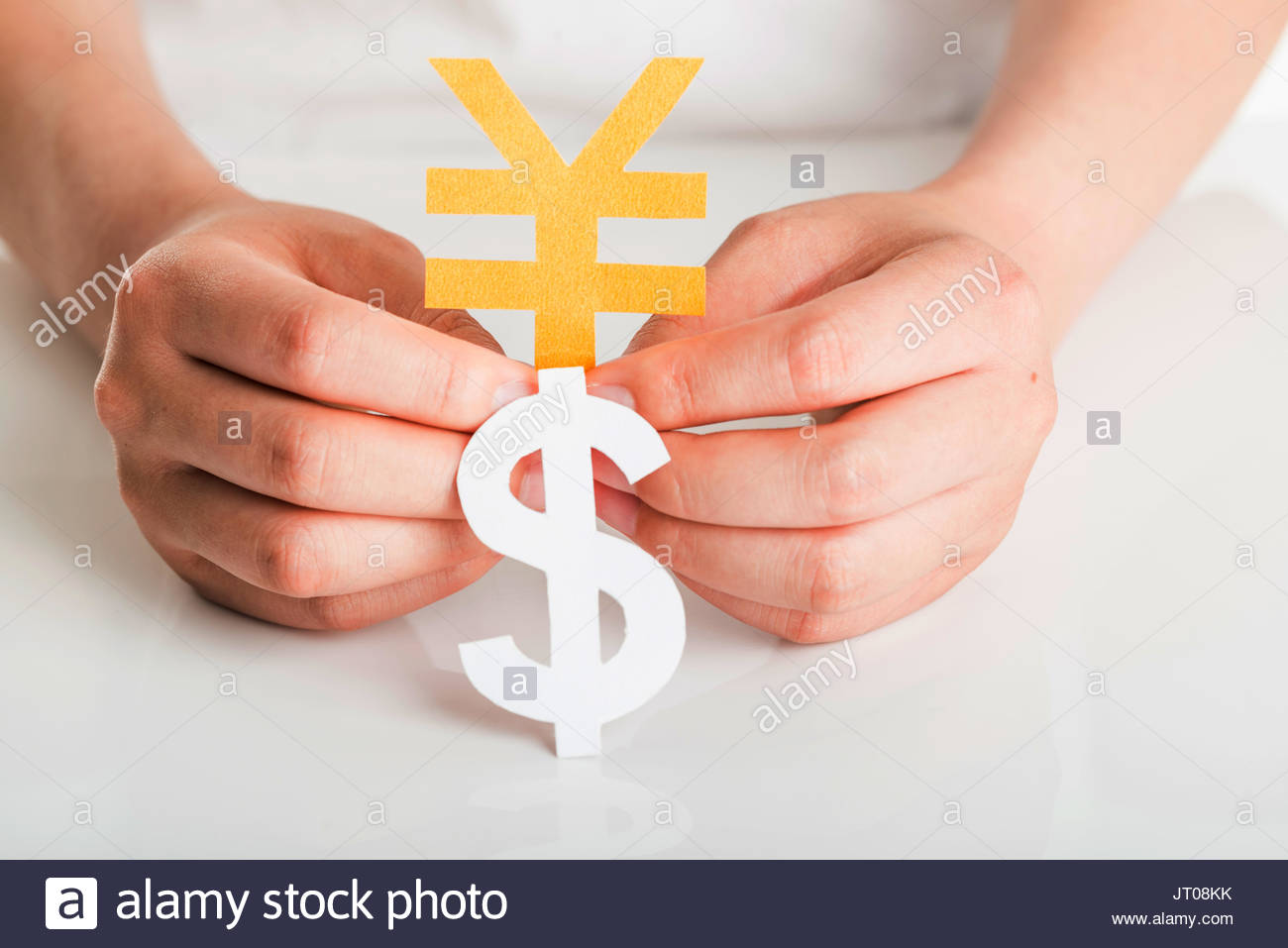 Currency symbol stock photos currency symbol stock images alamy human hand and currency symbol stock image buycottarizona Images