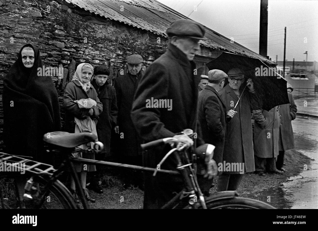 Ireland 1969 west coast Eire, returning from church. 1960s HOMER SYKES - Stock Image