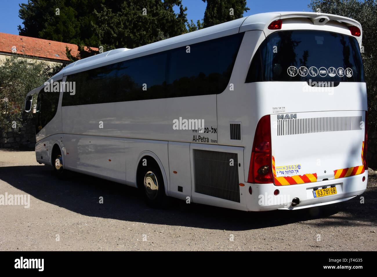 fab9760878 public coach in israel Stock Photo  152535129 - Alamy