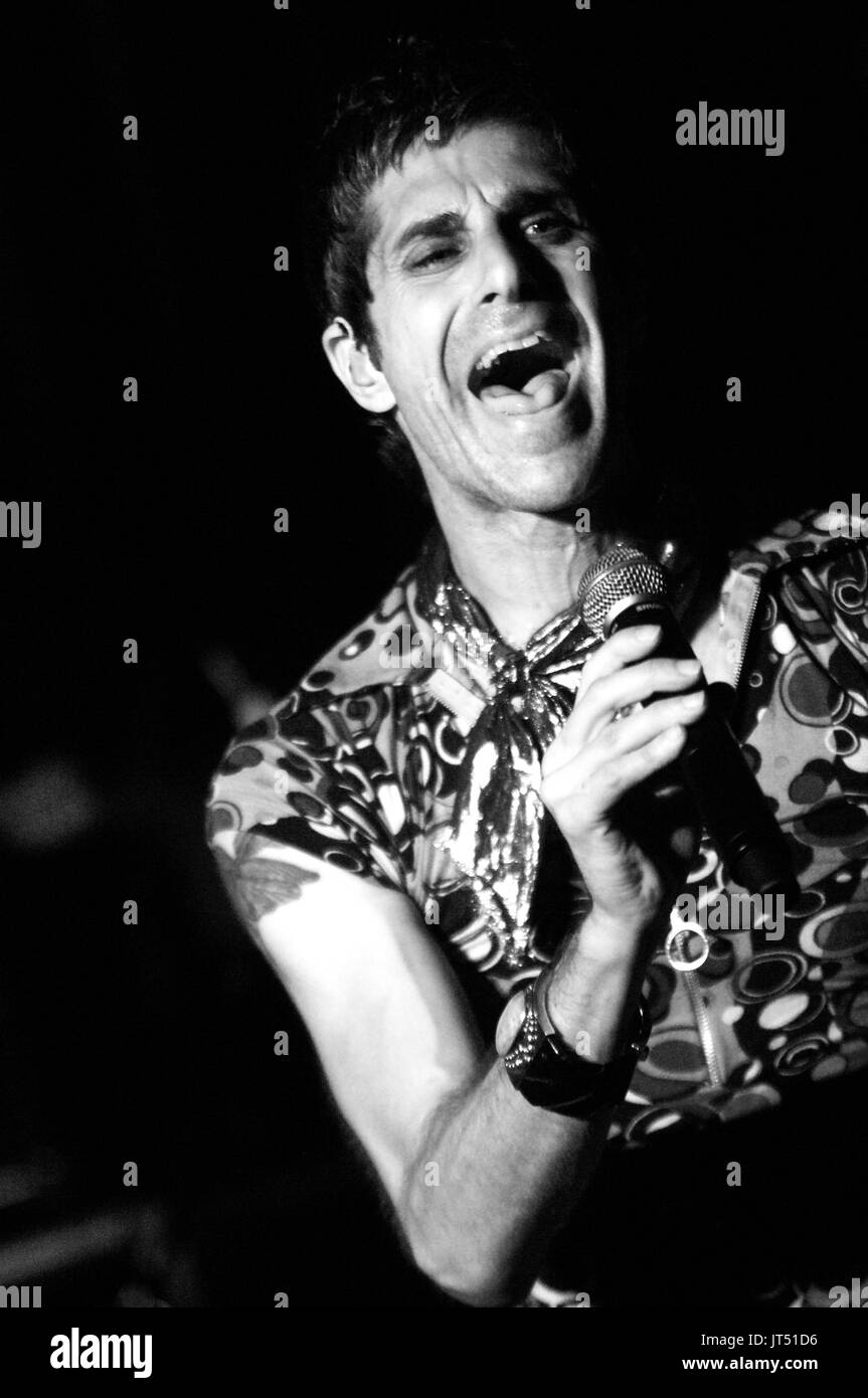 Perry Farrell Satellite Party performs Lollapalooza afterparty House Blues Chicago,Il - Stock Image