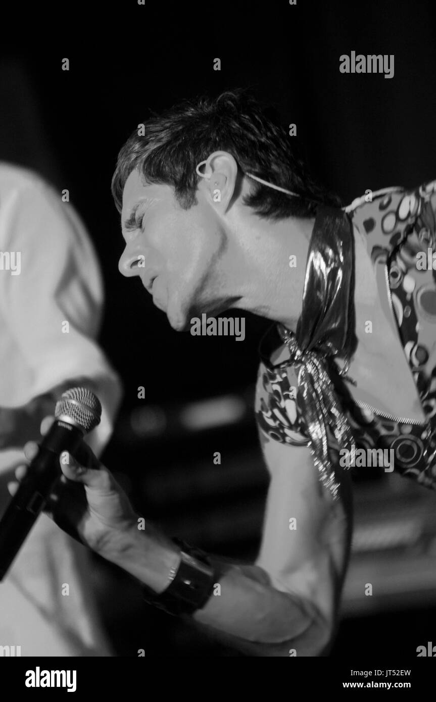 Perry Farrell Satellite Party performs Lollapalooza afterparty House Blues Chicago,Il Stock Photo
