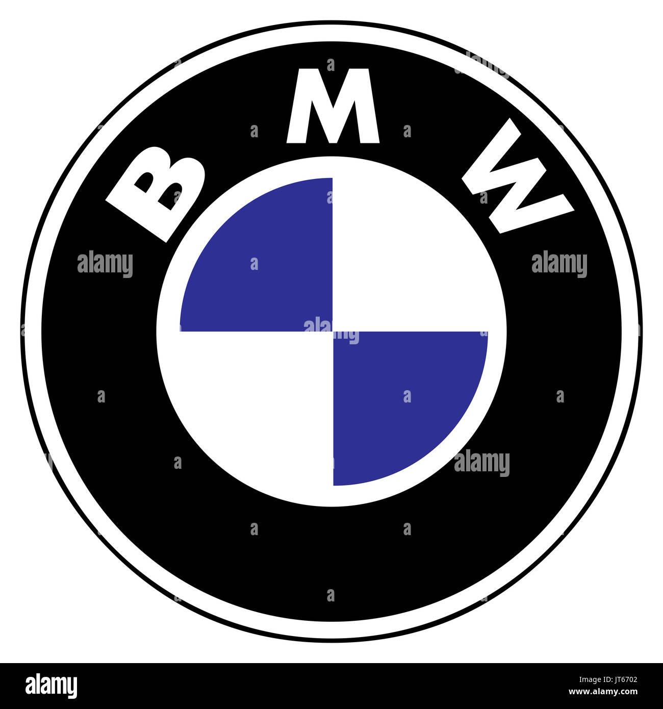 Bmw German Car Company Company Logo Dax 30 Companies Stock Photo