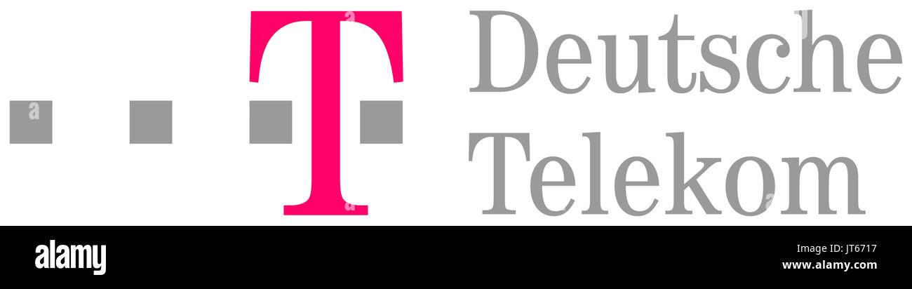 Deutsche Telekom, company logo, telecommunications ...