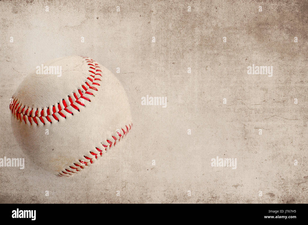 Vintage Style Baseball Image Of Ball On Grunge Background Great For Stock Photo Alamy