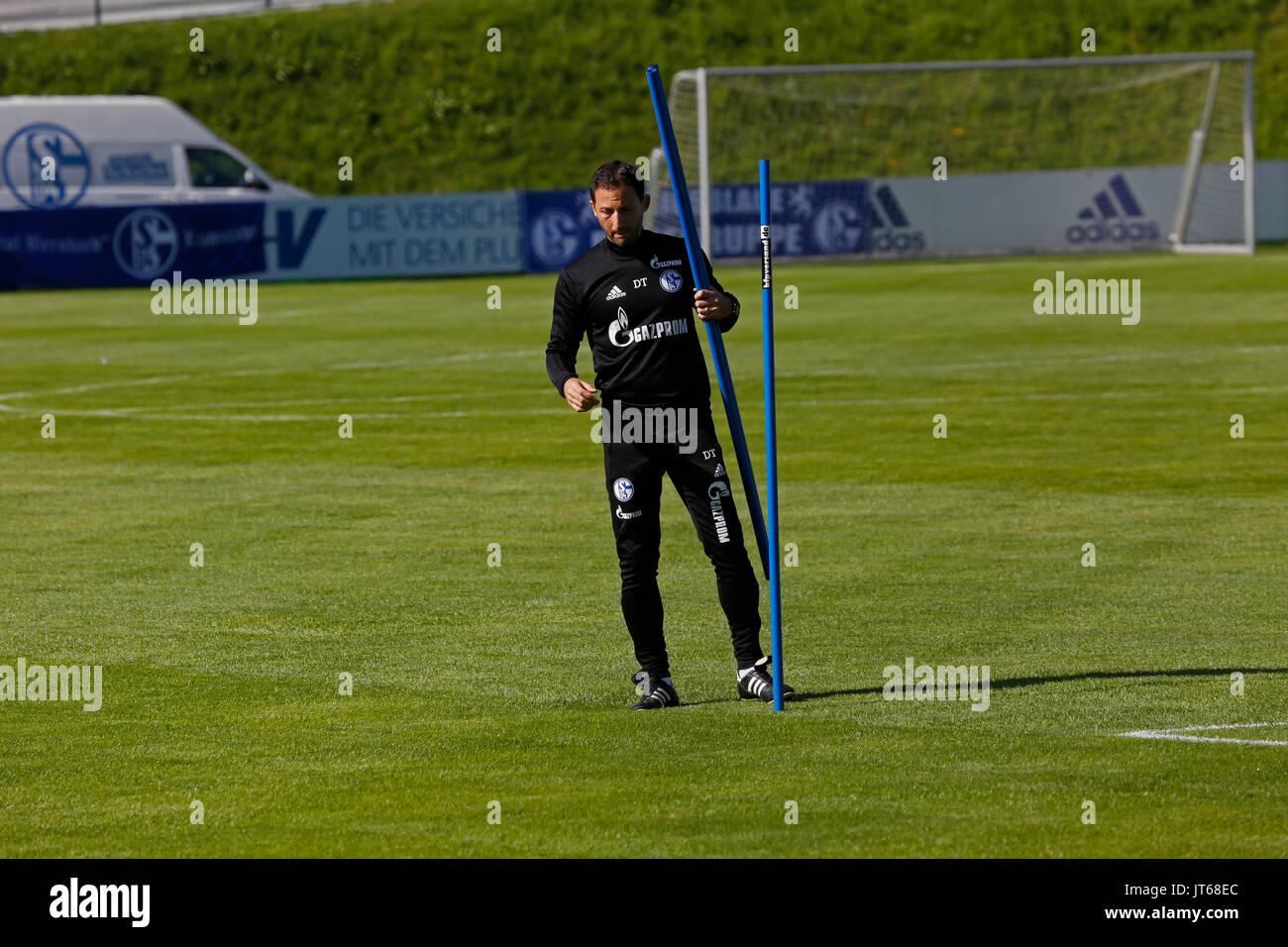 Head coach Domenico Tedesco - 27.07.2017, Mittersill / Austria - Stock Image